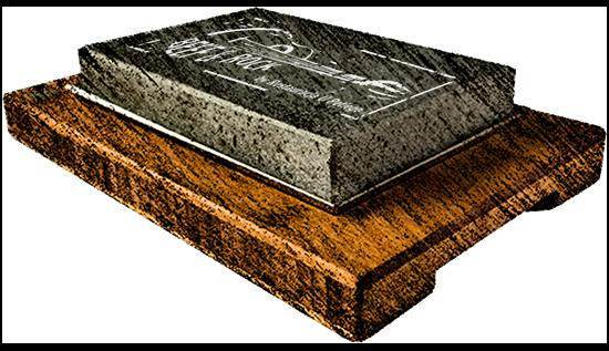 Kamień z lawy wulkanicznej rozgrzany do 350 stopni